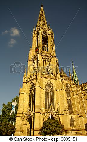 Stock Images of Memorial Church of the Protestation in Speyer.