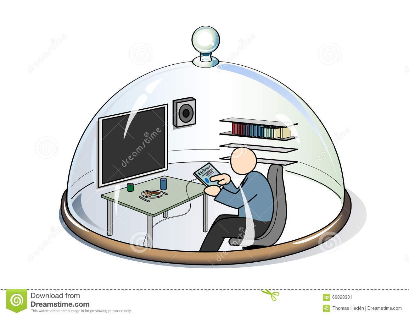 Life Sphere Stock Vector.