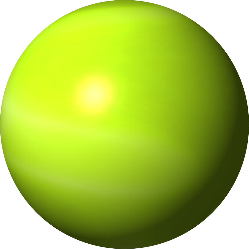 Spheres clipart.
