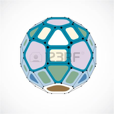 932 Low Poly Ball Stock Vector Illustration And Royalty Free Low.