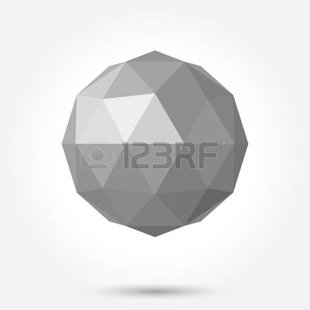 1,185 Low Poly Ball Stock Vector Illustration And Royalty Free Low.