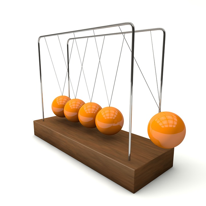 Free photo Spherical Ball Joint Swing Ball Pendulum Physics.