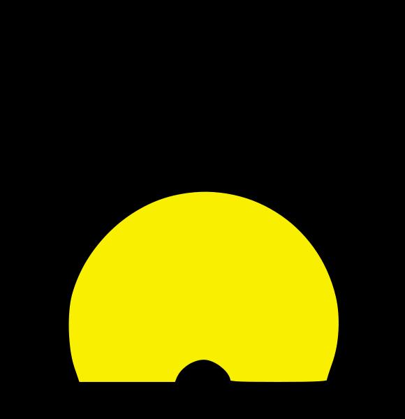 Spherical buoy medium 600pixel clipart, vector clip art.