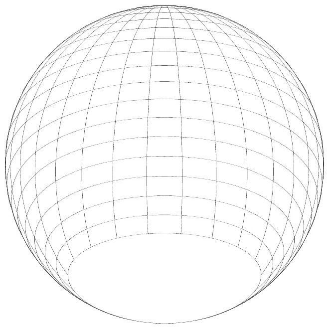 Spherical Shape Graphics Free Vector.