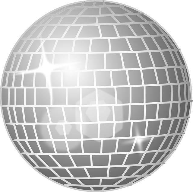 Free vector graphic: Disco Ball, Mirror Ball.