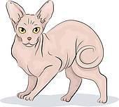 Sphynx cat clipart 2 » Clipart Portal.