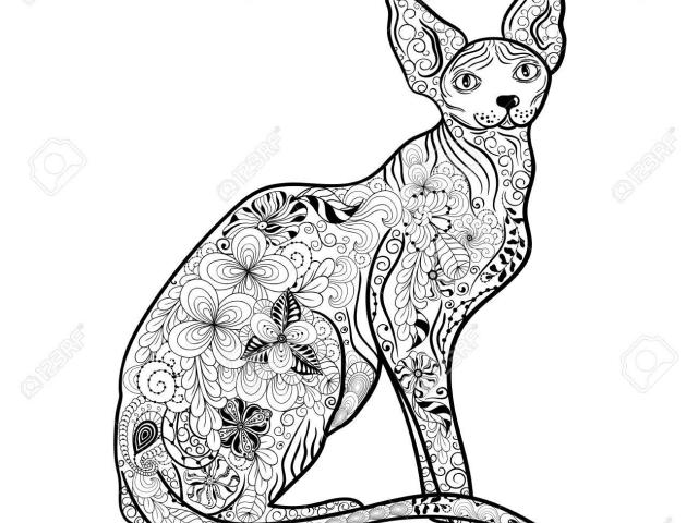 Free Sphynx Cat Clipart, Download Free Clip Art on Owips.com.