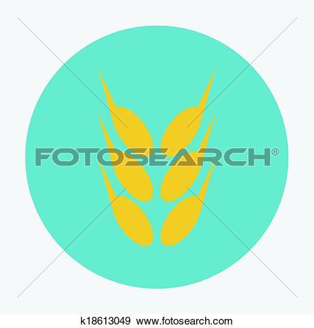 Clip Art of spica icon k18613049.