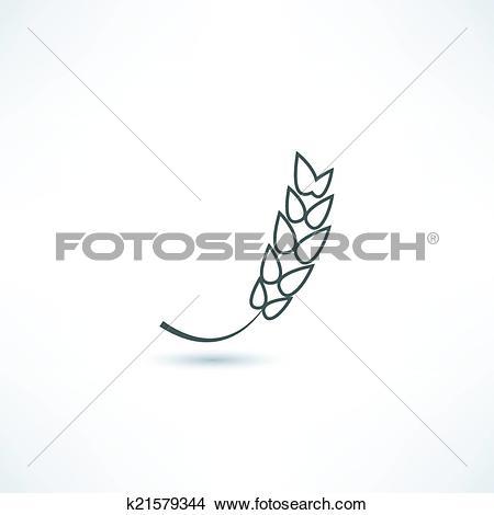 Clipart of spica icon k21579344.