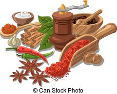 Grind spices Clipart Vector Graphics. 438 Grind spices EPS clip.