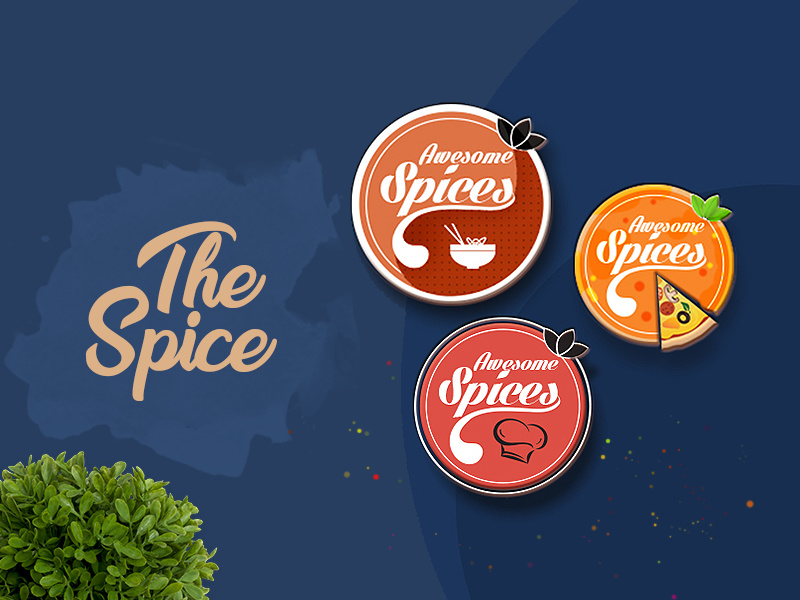 The Spice Logo by Design Studio on Dribbble.