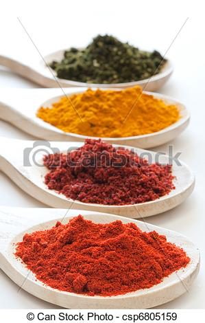 Stock Photographs of Spice mix.