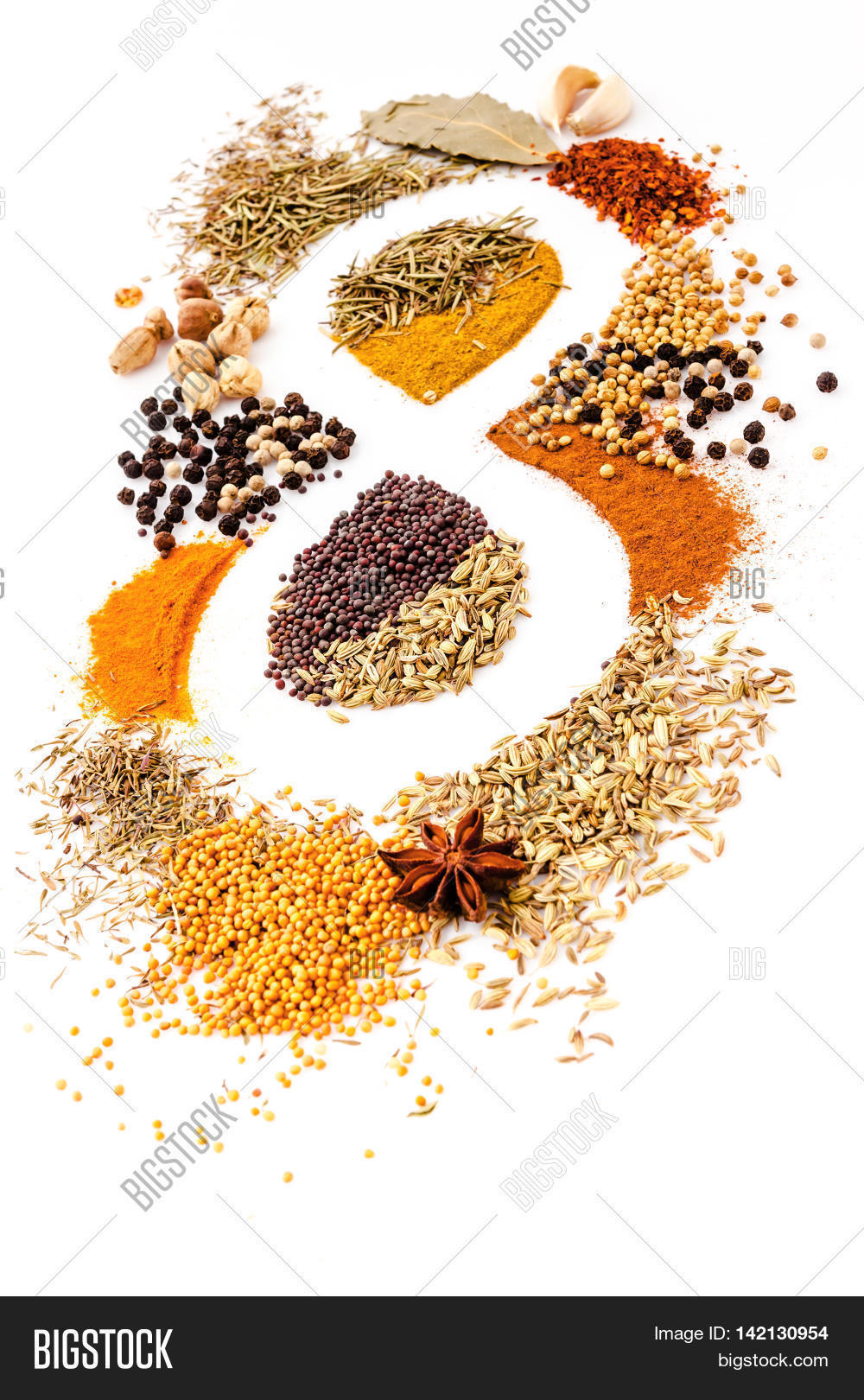 Infinity of nutrition Spice Mix herbs rosemarycardamon pepper.