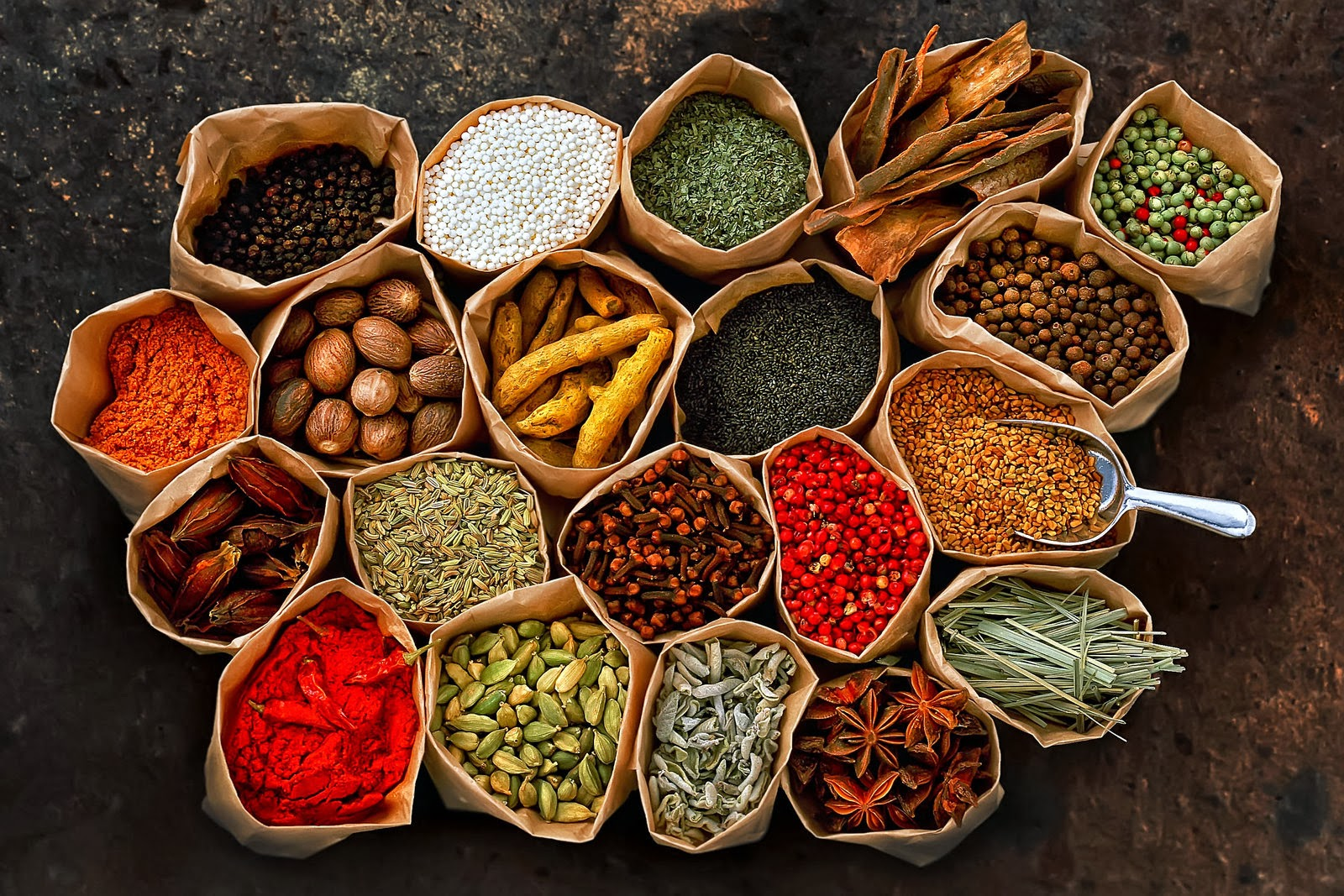 Herbs And Spices Clipart.