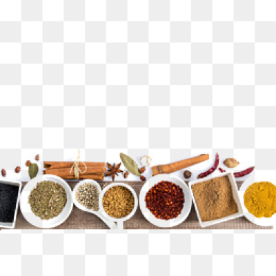 Spices PNG.