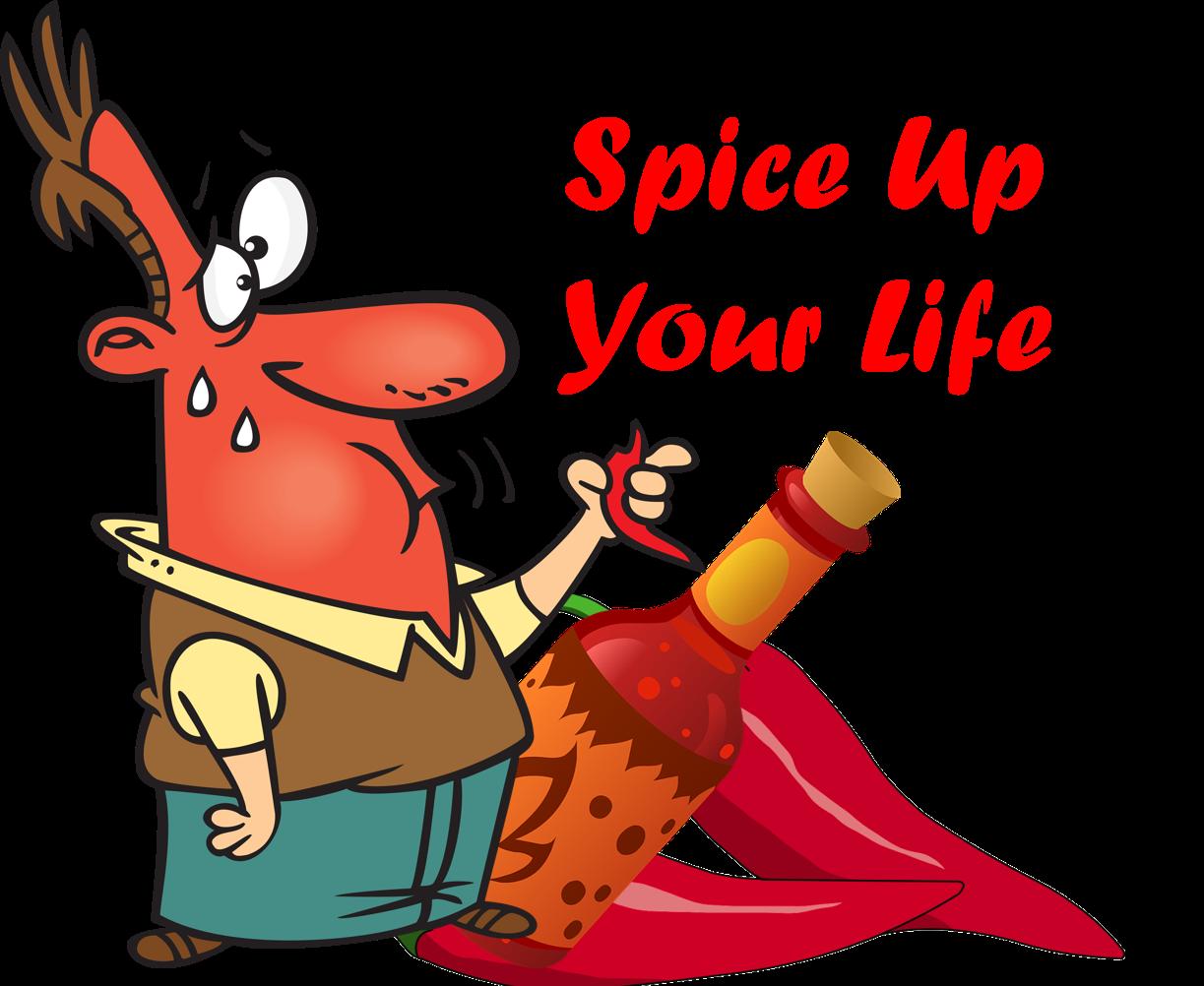 Spicy taste clipart.