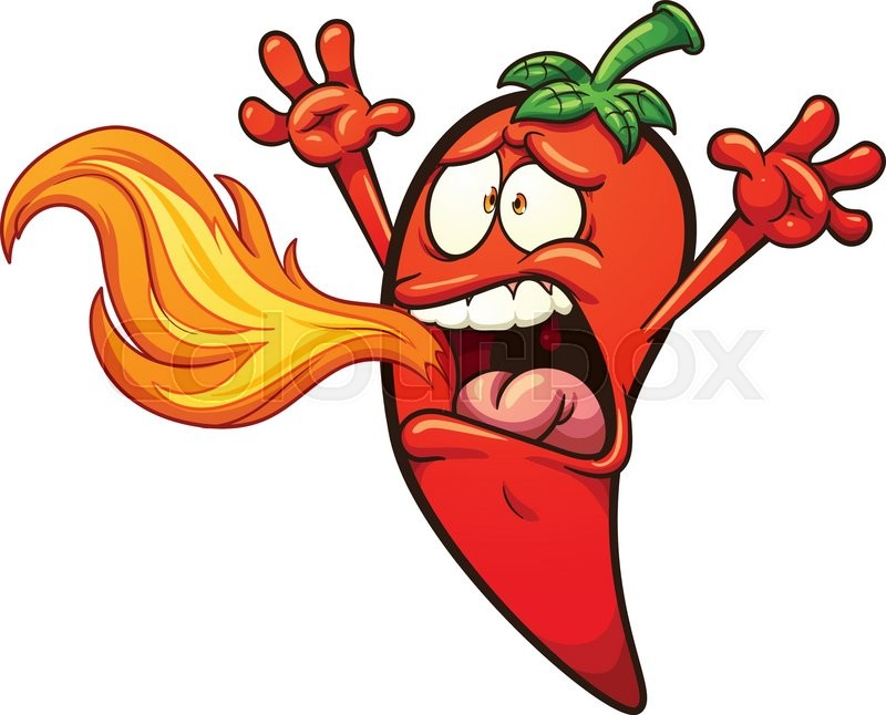 Spicy Pepper Clipart.