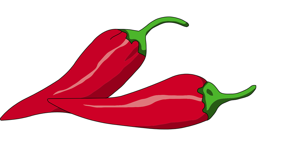 Free vector graphic: Chilli, Red, Pepper, Spicy, Food.