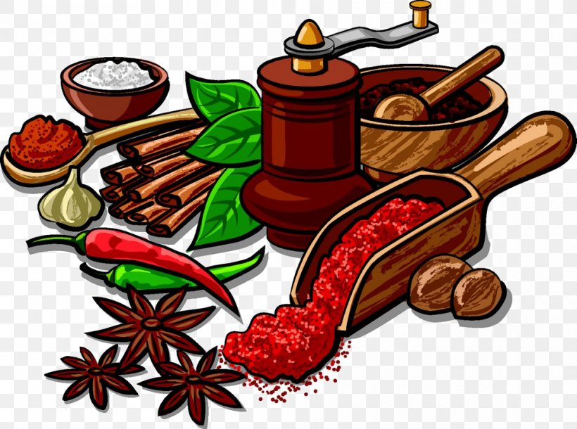 Indian Cuisine Spice Herb Clip Art, PNG, 1000x745px, Indian.