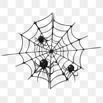 Spider Cartoon PNG Images.