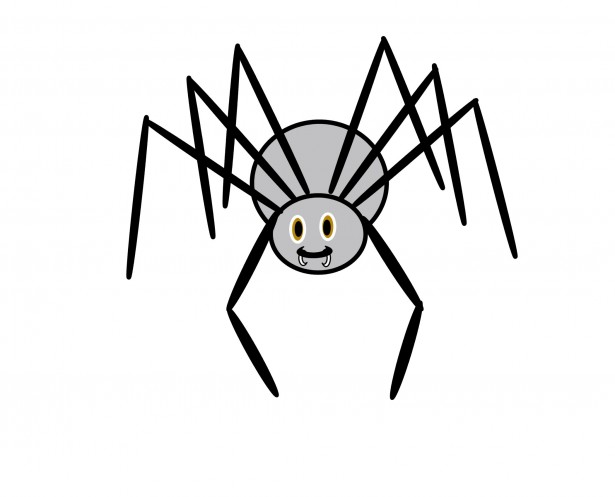 Clip Art Spider Free Stock Photo.