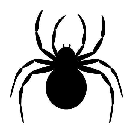 Black spider clipart » Clipart Station.