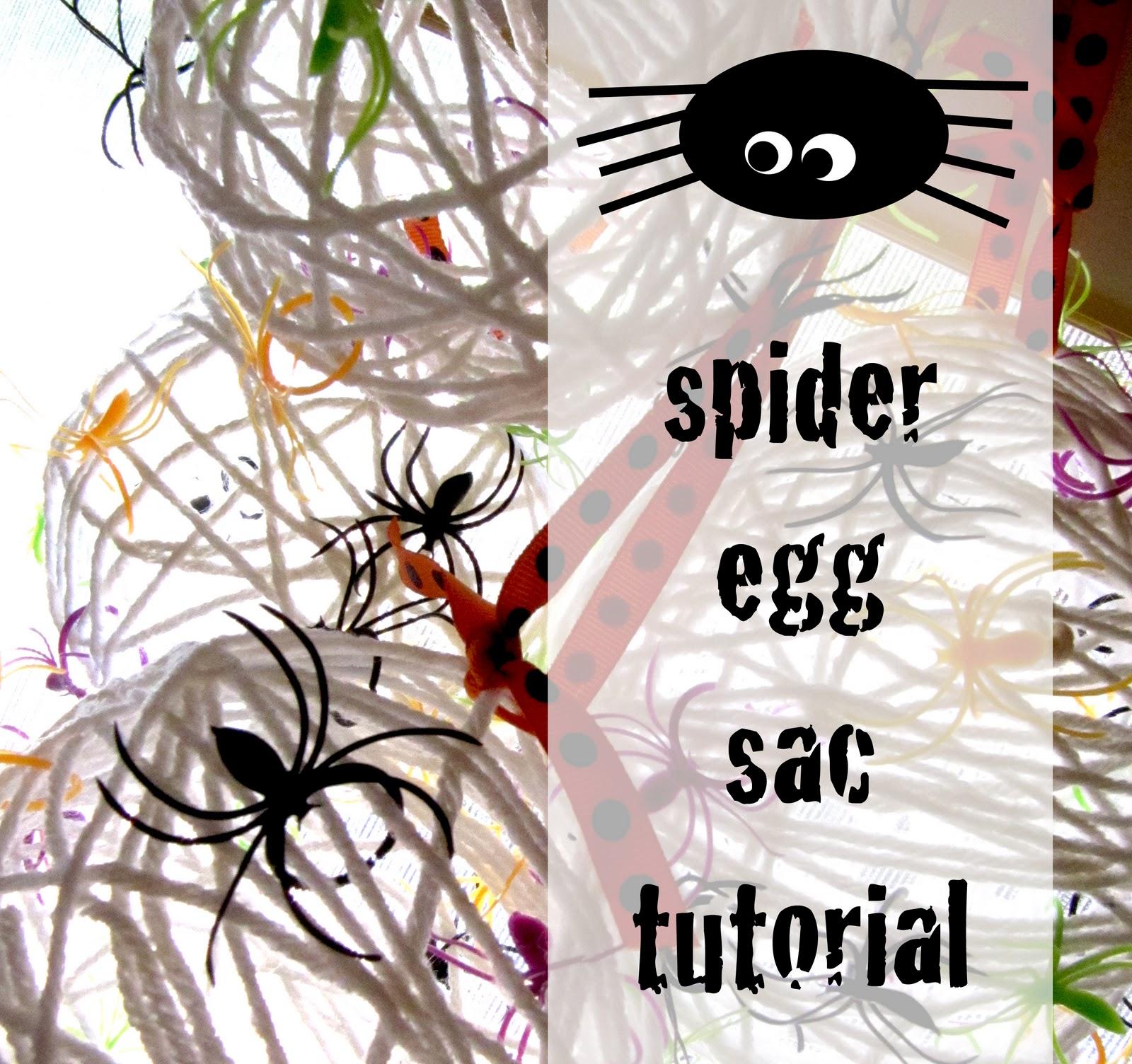 Make Creepy Spider Eggs.