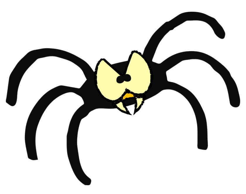Spider Angry Cartoon Eyes Buy Clip Art Scary Clipart Free.