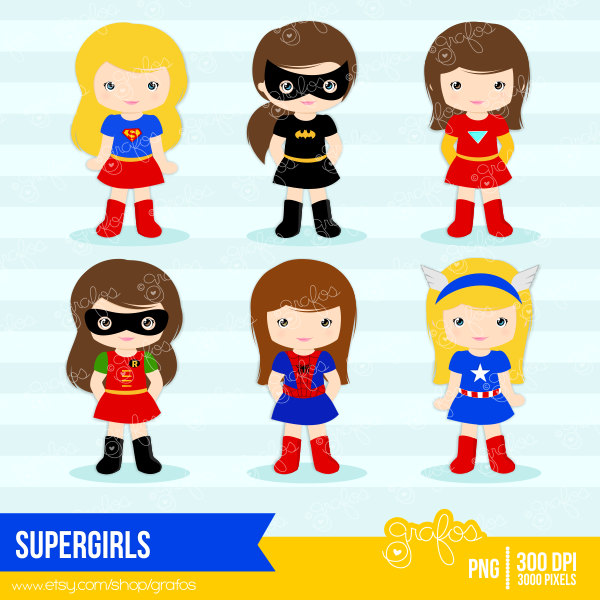 Spider Girl Cliparts.