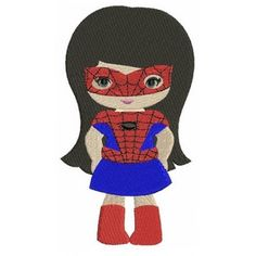 Spider Girl Clipart Clipground