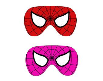 Spider Girl Logo Clipart.