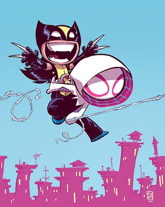 Wolverine Annual Baby Variant.