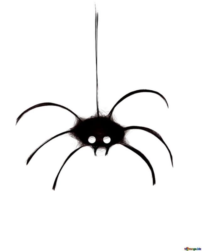 Halloween Spider Clip Art.