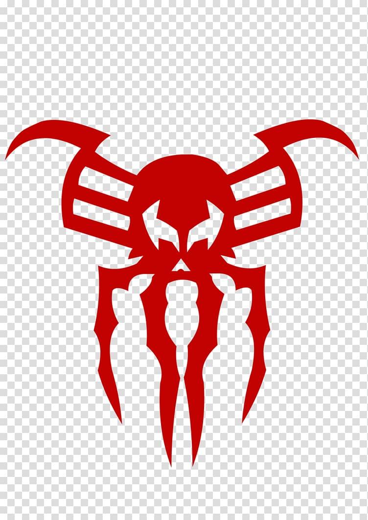 Red spider logo, Spider.