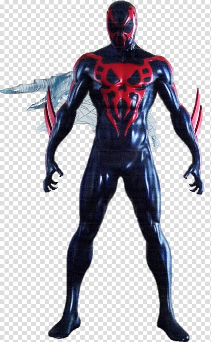 Spiderman transparent background PNG clipart.