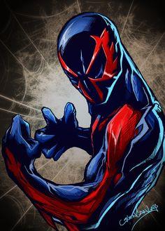 Spiderman 2099 clipart.