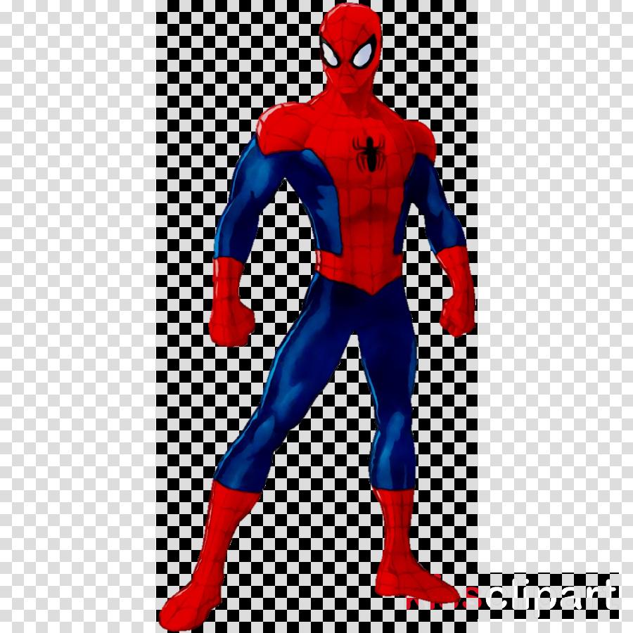 Spiderman Costume clipart.