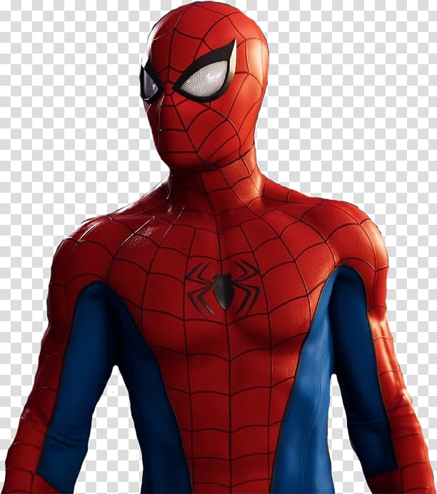 Spider Man CLASSIC SUIT transparent background PNG clipart.