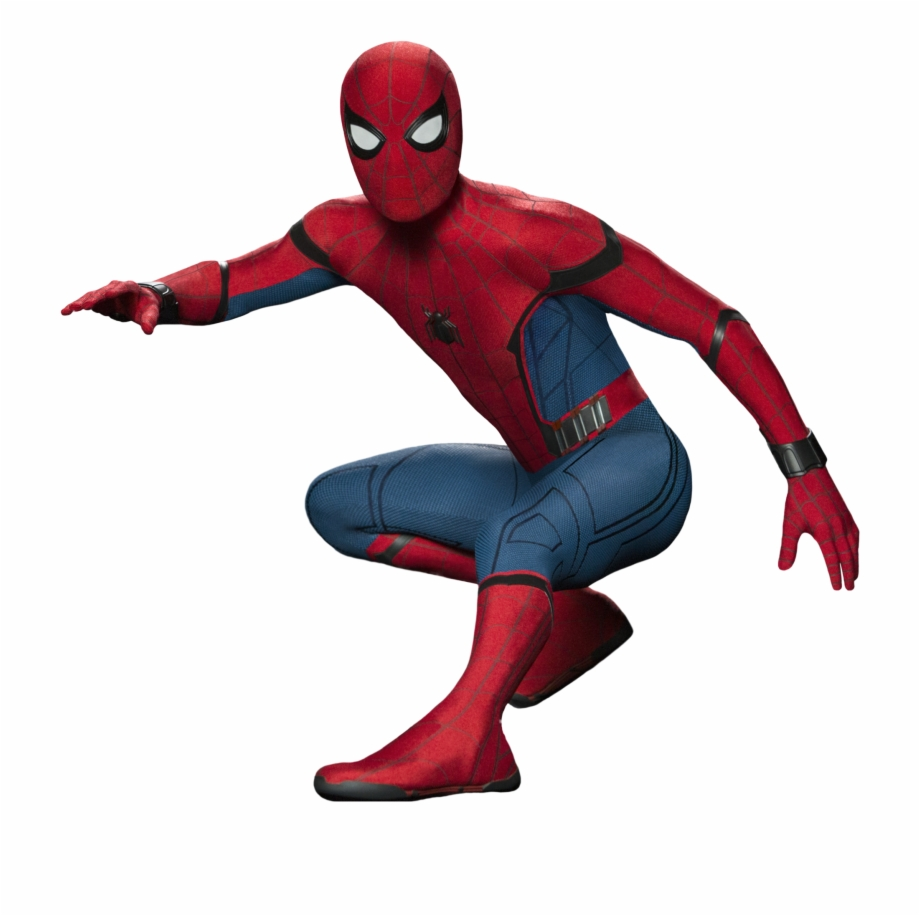 Real Spiderman Homecoming Transparent Background.