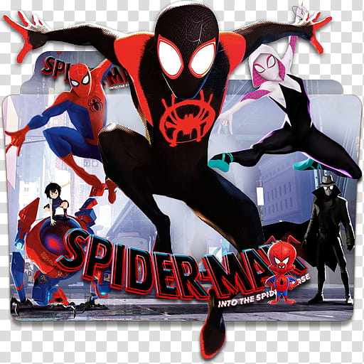 Spider Man Into The Spider Verse Icon , Spiderman Into The.