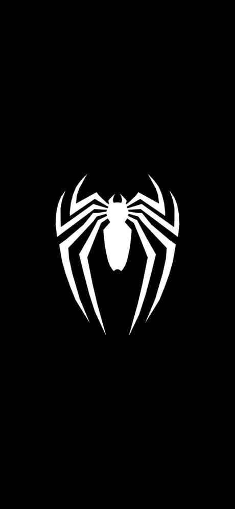 Spiderman PS4 logo wallpaper.