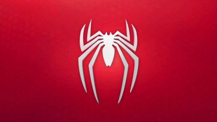 Download Spider Man Logo PS4 HD Wallpaper 1920x1080.
