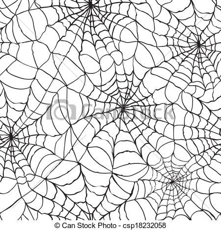 Clipart Vector of spider web texture background.