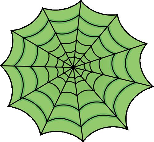 Spider Web Border Clipart.