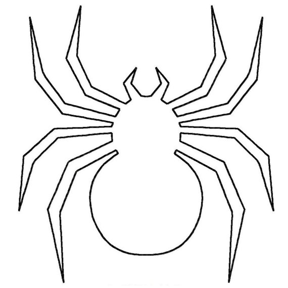 Free Spider Outline, Download Free Clip Art, Free Clip Art.