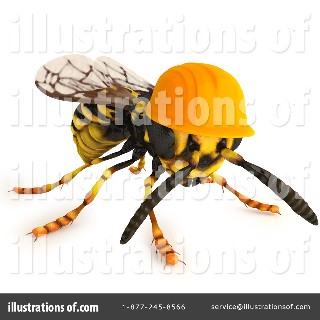 Wasp Clipart #1116430.