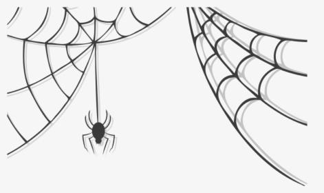Transparent Corner Spider Web Clipart.
