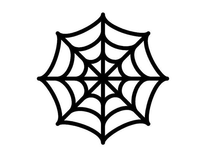 spiderman spider logo outline for pumpkin carving.