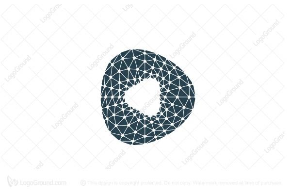 Exclusive Logo 145774, 3d Spiderweb Torus Logo.