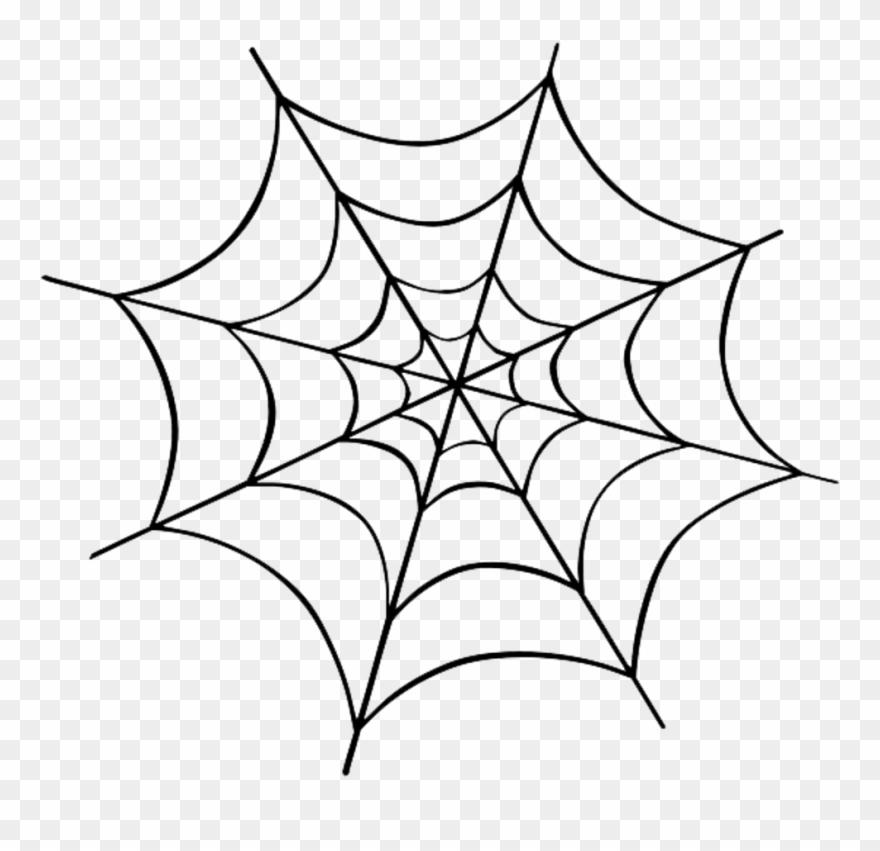 Halloween Spider Transparent Background.